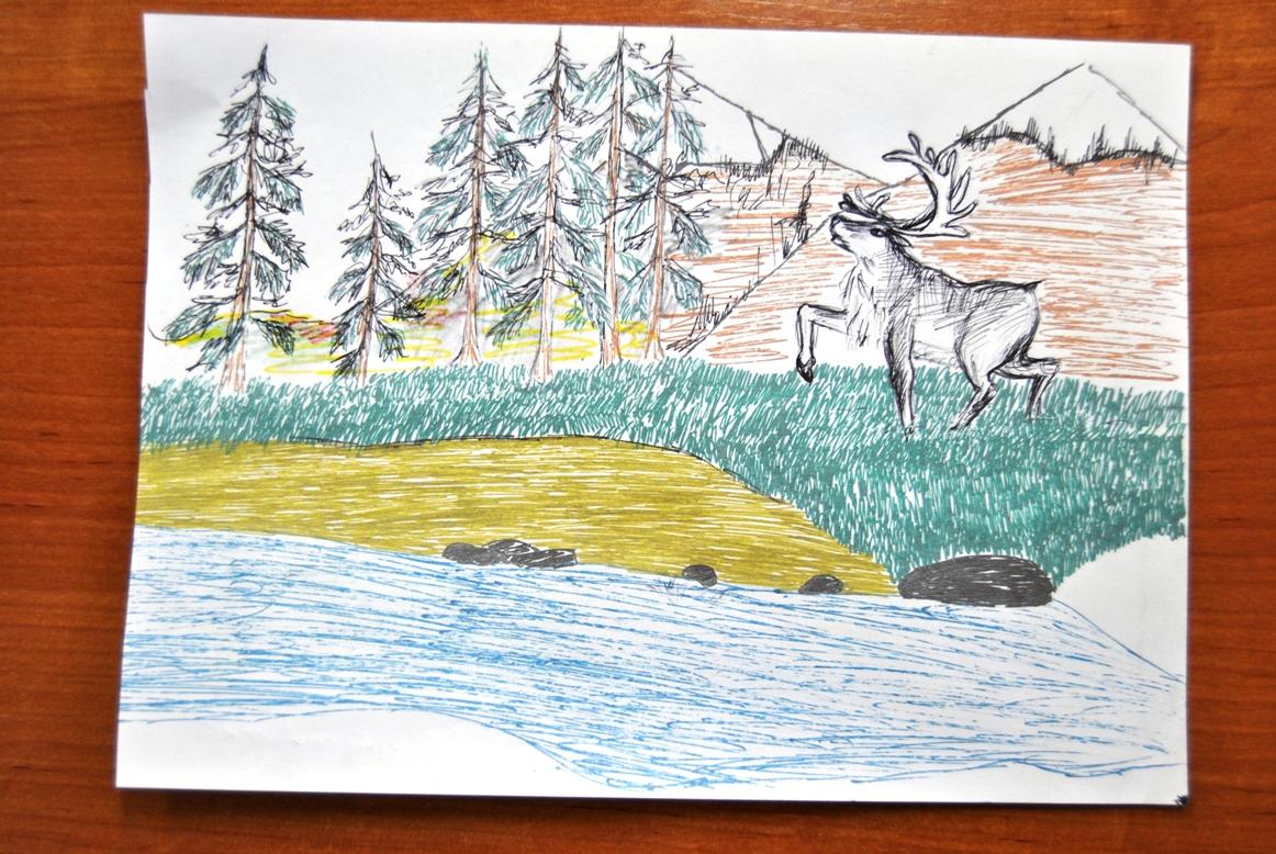 Рисунки детей по защите природы ...: internat-tura.ru/photo/risunki_detej_po_zashhite_prirody/11